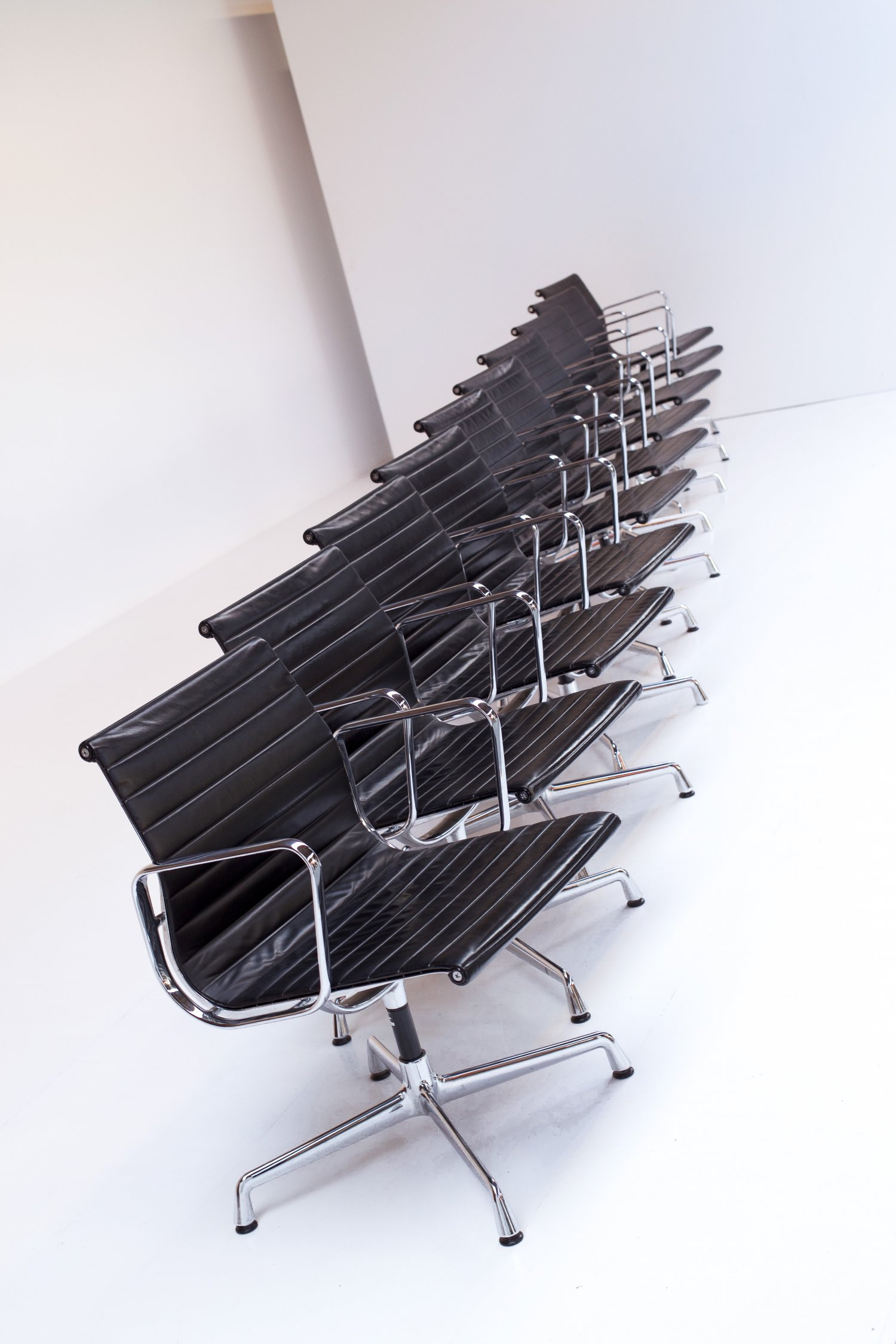 Alu chairs by Eames