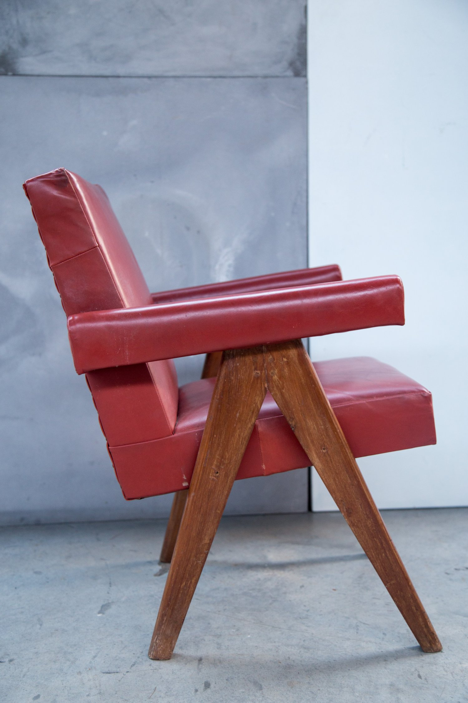 Pair of Pierre Jeanneret chairs