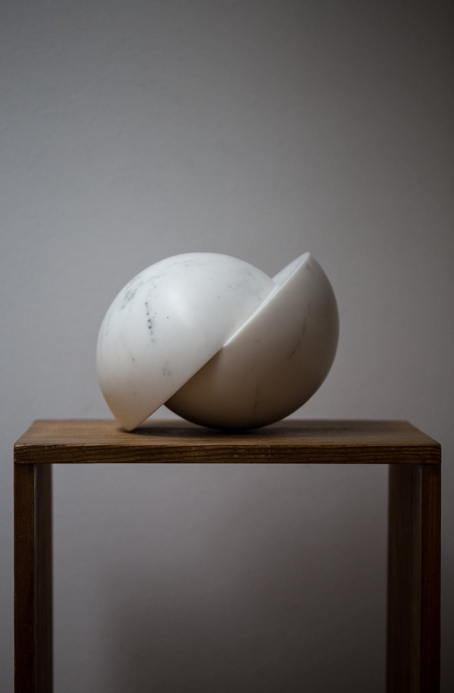 Carrara Marble Sculpture by Piet Van Loocke